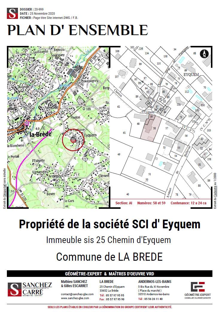 Géomètre Expert Bordeaux Bassin d'Arcachon Cap Ferret